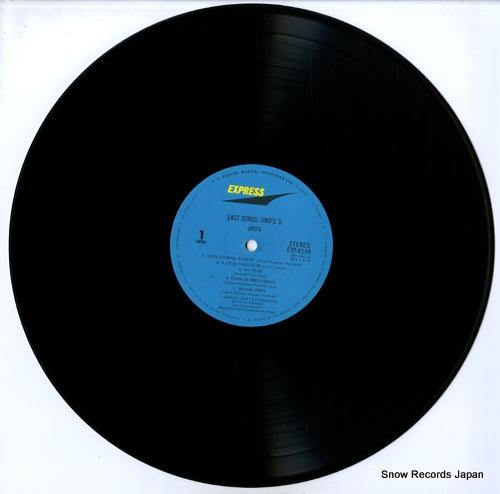 JIRO'S last songs / jiro's 3 ETP-8166 - disc