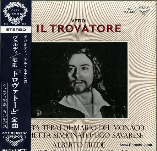 EREDE, ALBERTO verdi; il trovatore SLX3-25 - front cover