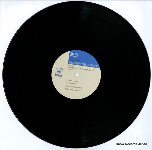 SZELL, GEORGE brahms; symphony no.2 in d major, op.73 13AC202 - disc