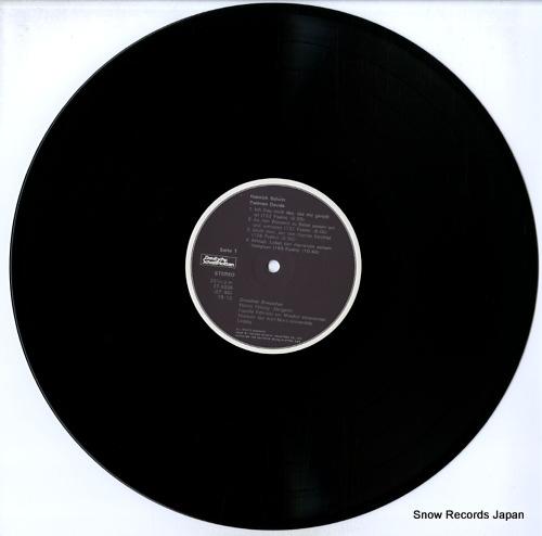 FLAMIG, MARTIN heinrih schutz; psalmen davids i ET-5036 - disc