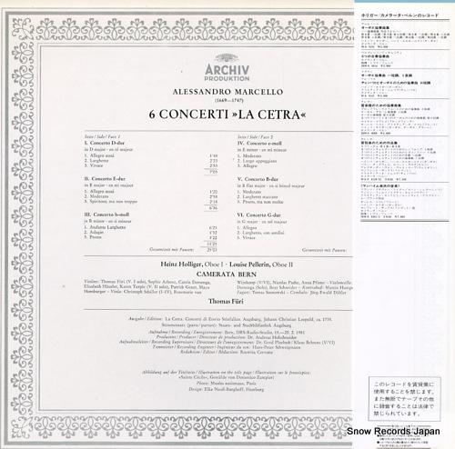 FURI, THOMAS marcello; 6 concerti