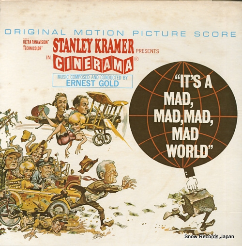 GOLD, ERNEST it's a mad mad mad mad world UA-LA276-G - front cover