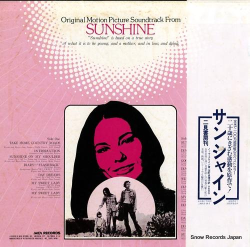 DENVER, JOHN sunshine MCA-7163 - back cover