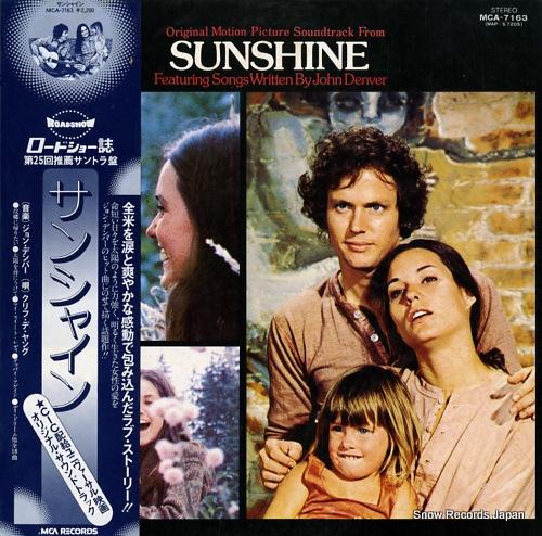 DENVER, JOHN sunshine MCA-7163 - front cover