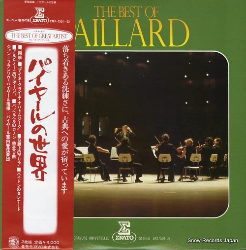 PAILLARD, JEAN-FRANCOIS the best of paillard ERX-7501-02 - front cover
