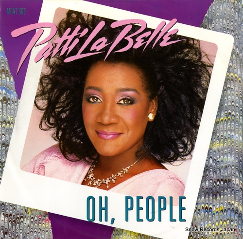 LABELLE, PATTI oh, people MCAT1075 - front cover