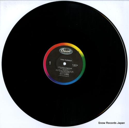 TURNER, TINA let's stay together / i wrote a letter V-8579 - disc