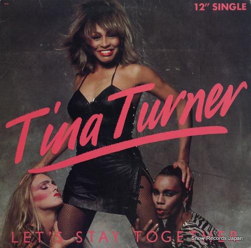 TURNER, TINA let's stay together / i wrote a letter V-8579 - front cover