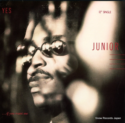 JUNIOR yes...(if you want me) 886234-1 - front cover