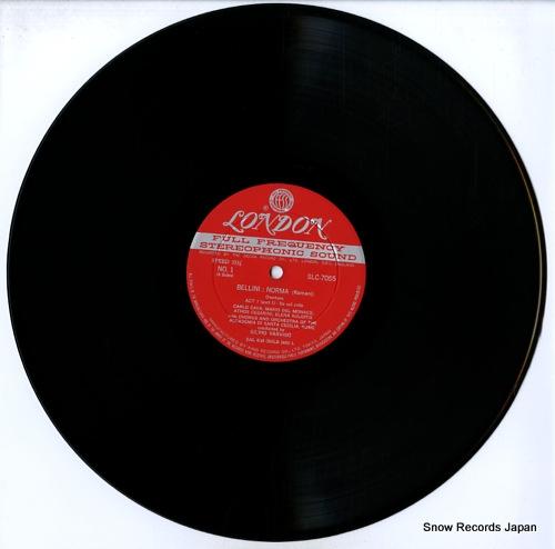 VARVISO, SILVIO bellini; norma (complete) SLC7055/6 - disc
