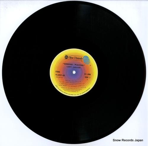 CARLTON, LARRY singing / playing YS-8017-AU - disc