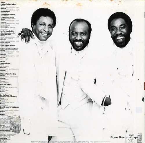 O'JAYS, THE love and more 28AP2886 - back cover