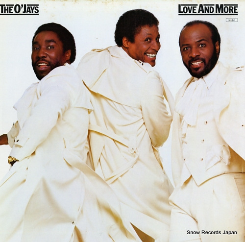 O'JAYS, THE love and more 28AP2886 - front cover