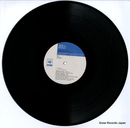 BERNSTEIN, LEONARD verdi; requiem SONC-10312-313 - disc