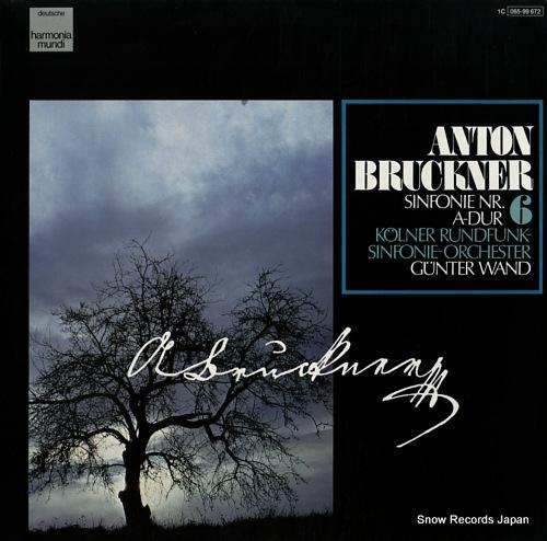 WAND, GUNTER bruckner; sinfonie nr.6 a-dur 1C065-99672 - front cover