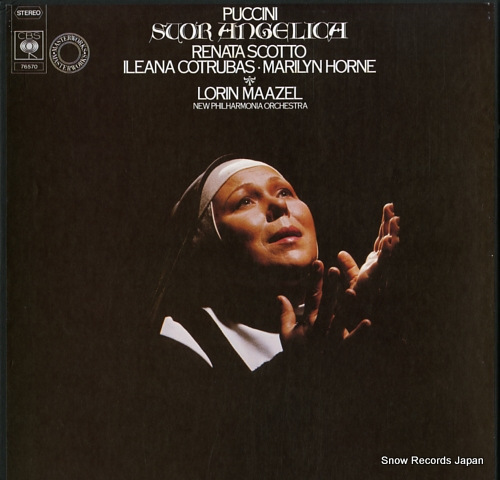 MAAZEL, LORIN puccini; suor angelica 76570 - front cover