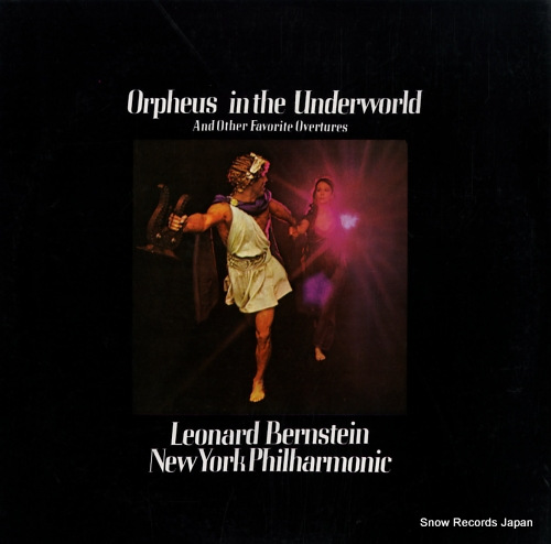 BERNSTEIN, LEONARD orpheus in the underworld SONC10225 - back cover
