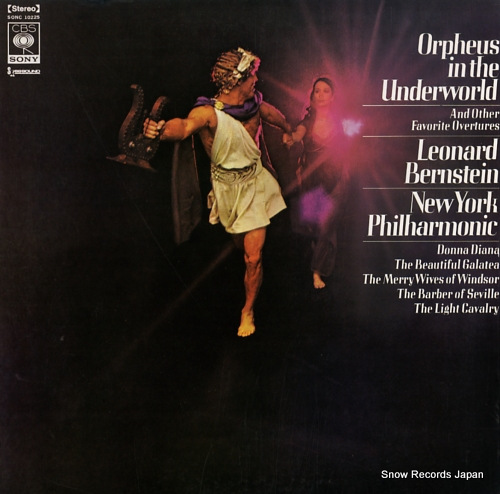 BERNSTEIN, LEONARD orpheus in the underworld SONC10225 - front cover