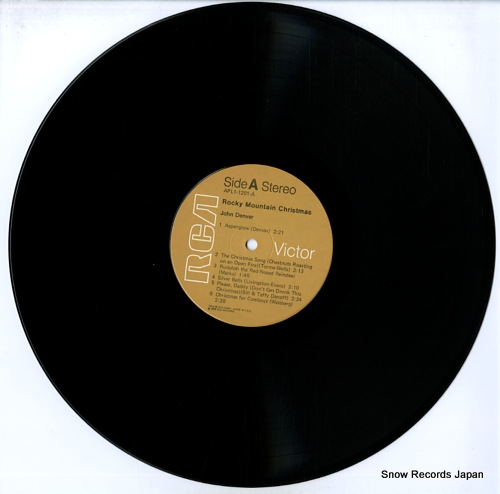 DENVER, JOHN rocky mountain christmas APL1-1201 - disc