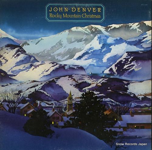DENVER, JOHN rocky mountain christmas APL1-1201 - front cover