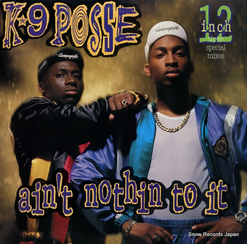 K-9 POSSE ain't nothin to it AD1-9763 - front cover