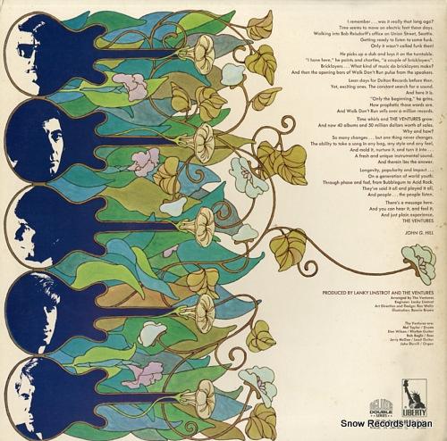 VENTURES, THE the ventures 10th anniversary album LP-9473B - back cover