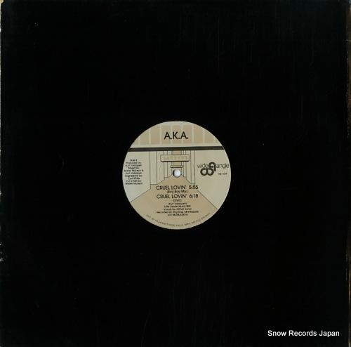 A.K.A. cruel lovin' NS109 - back cover