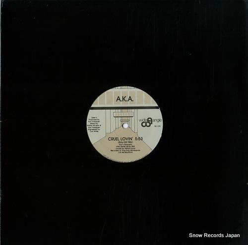 A.K.A. cruel lovin' NS109 - front cover