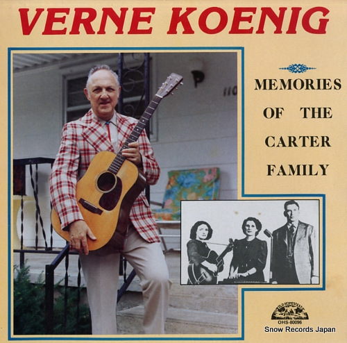 KOENIG, VERNE memories of the carter family OHS-80096 - front cover