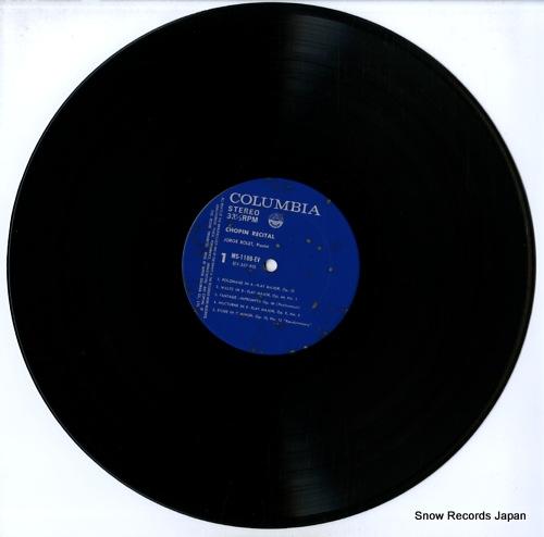 BOLET, JORGE chopin recital MS-1106-EV - disc