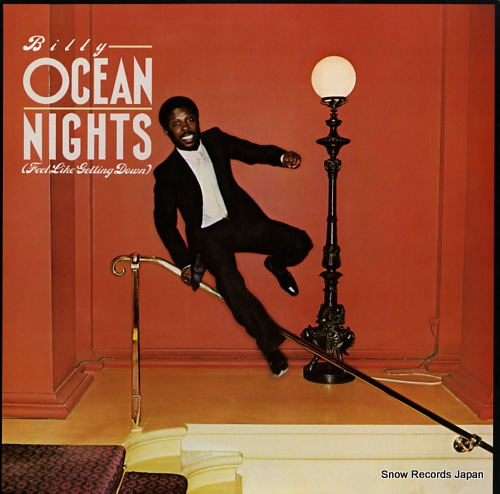 OCEAN, BILLY nights (feel like getting down) 25.3P-301 - front cover