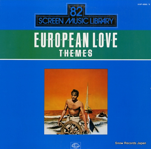 V/A european screen love themes K16P-4068/9 - front cover