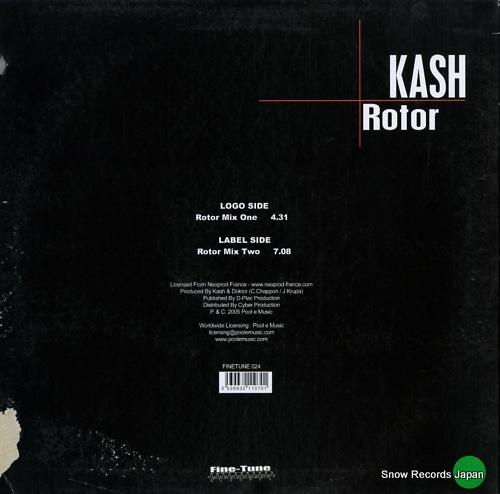 KASH rotor FINETUNE024 - back cover