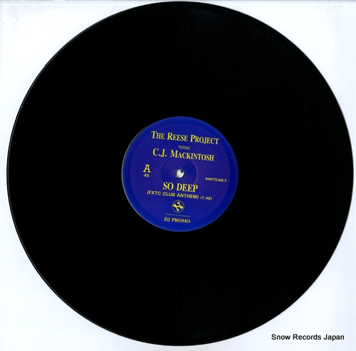 REESE PROJECT, THE / C.J. MACKINTOSH so deep NWKTDJ68/3 - disc