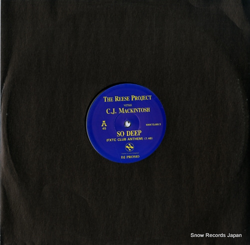 REESE PROJECT, THE / C.J. MACKINTOSH so deep NWKTDJ68/3 - front cover