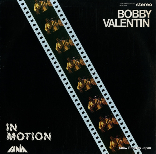 VALENTIN, BOBBY in motion XSLP00469/SLP00469 - front cover