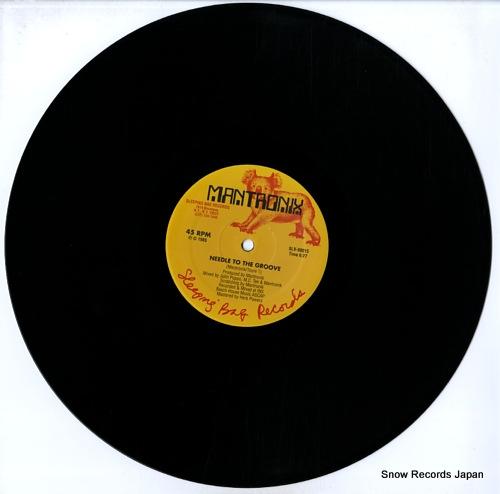MANTRONIX needle to the groove SLX-00015 - disc