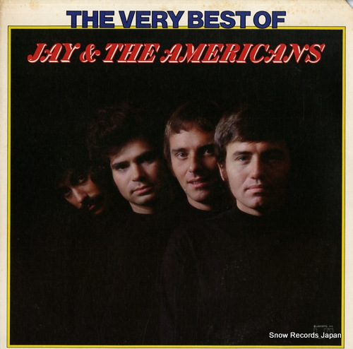 JAY AND THE AMERICANS the very best of jay & the americans UA-LA357-E - front cover