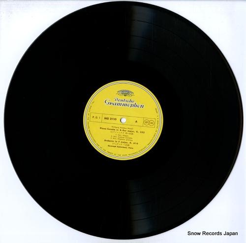 ESCHENBACH, CHRISTOPH mozart; sonata k.333, k.332 andante k.616 MG-2110 - disc