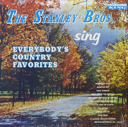 STANLEY BROTHERS, THE everyboy's country favorites K-690 - front cover