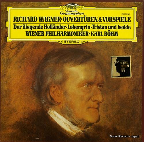 BOHM, KARL wagner; ouverturen & vorspiele 2531288 - front cover