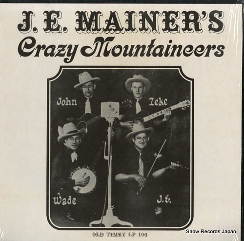 J.E. MAINER'S MOUNTAINEERS j.e. mainer's crazy mountaineers volume1 OT106 - front cover