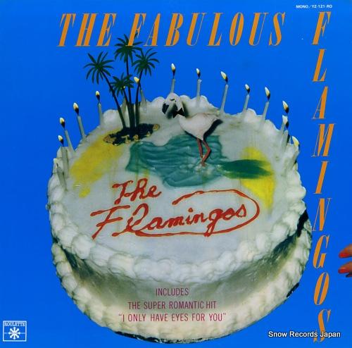 FLAMINGOS, THE the fabulous flamingos YZ-121-RO - front cover