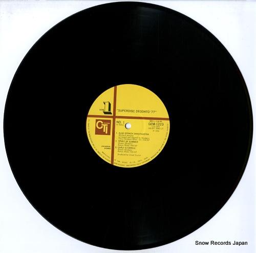 DEODATO superdisc deodato '77 GEM1223/4 - disc