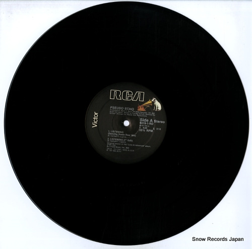 PSEUDO ECHO listening 6619-1-RD - disc