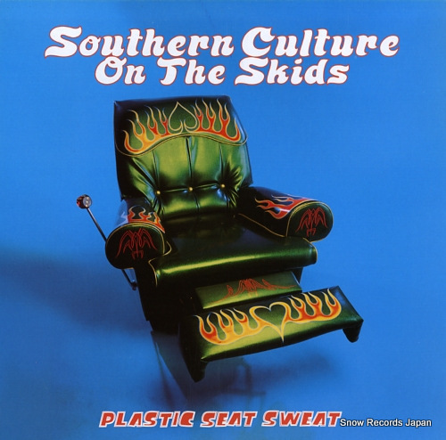 SOUTHERN CULTURE ON THE SKIDS plastic seat sweat TR030 - front cover