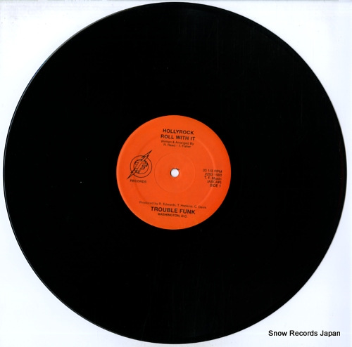 TROUBLE FUNK hollyrock 2253/2254 - disc