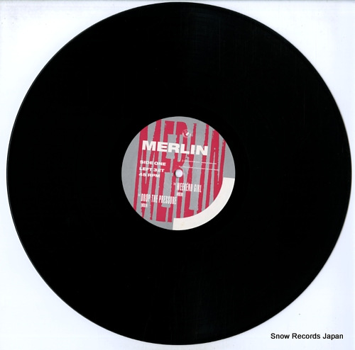 MERLIN drop the weapon / weekend girl LEFT32T - disc