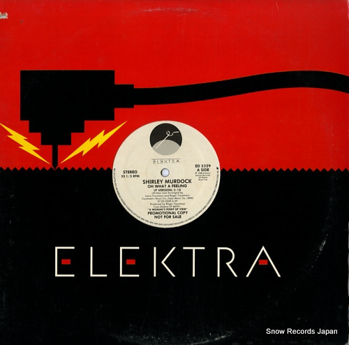 MURDOCK, SHIRLEY oh what a feeling ED5329 - front cover