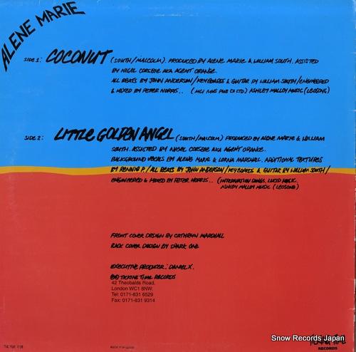 MARIE, ALENE coconut / little golden angel TICTOC008 - back cover